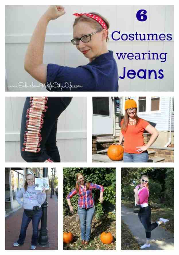 6 Costumes using Jeans - Rider by Lee