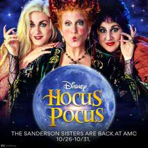 Hocus Pocus Back in Theaters 2018