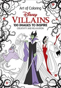 Disney Coloring Book Villians