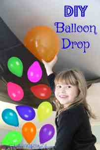 DIY Balloon Drop