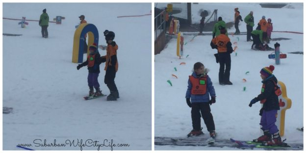 Camelback Kids Learn to Ski
