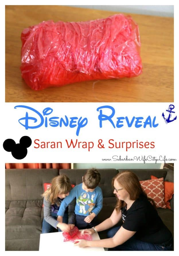 Disney Reveal Saran Wrap and Surprises