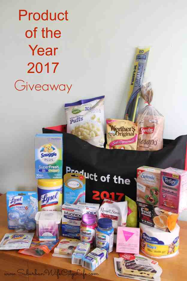 Product of the Year 2017 Giveaway ends March 10th, 2017