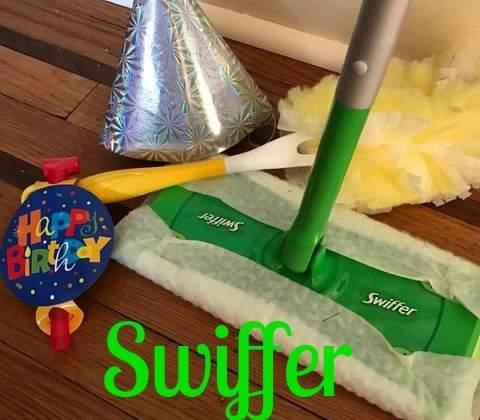 Happy 18th Birthday Swiffer