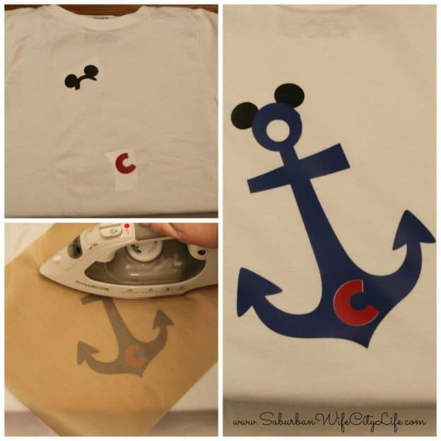 Disney Cruise Family Shirts Iron-on