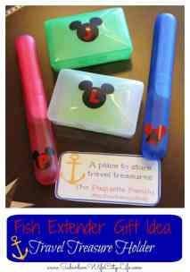 Fish Extender DIY Gift Idea Travel Treasure Boxes