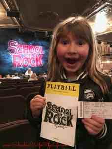 1st Broadway Show – School of Rock
