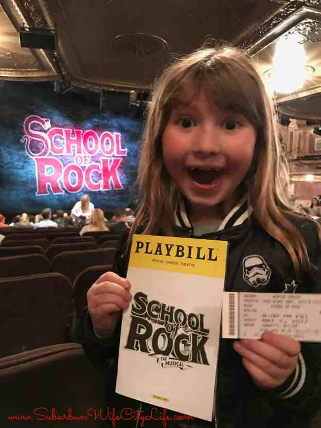 1st Broadway Show School of Rock