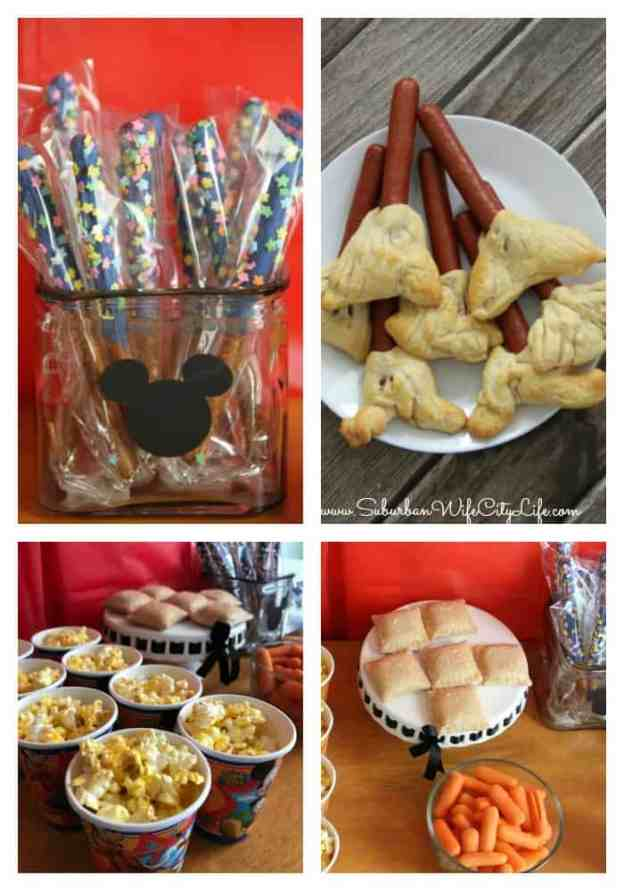 DisneyKids Magical Playdate food ideas