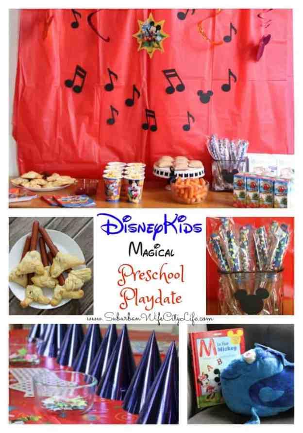 DisneyKids Magical Preschool Playdate 2017 #DisneyKids