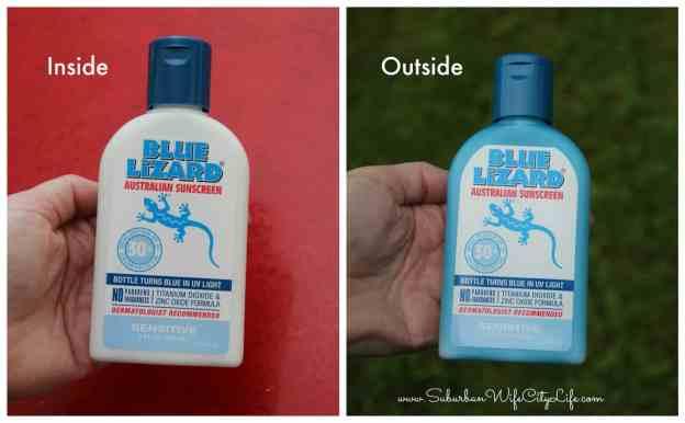 Blue Lizard® UV Bottle