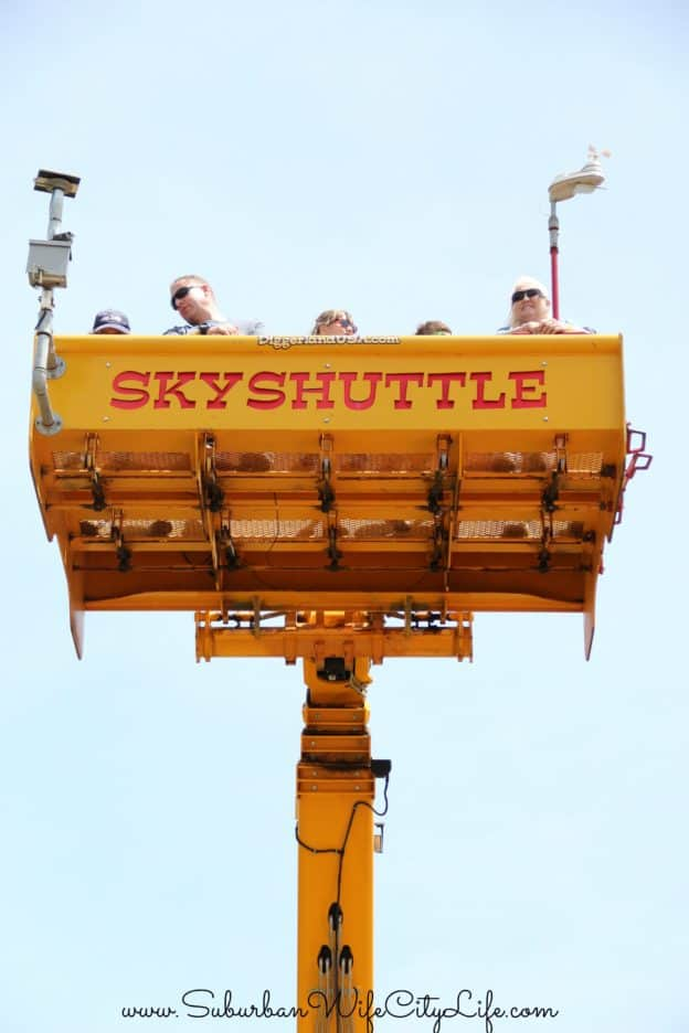 Diggerland USA Skyshuttle