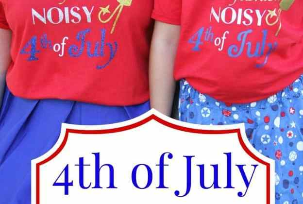 4th of July shirt with Cricut