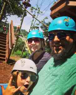Tree Top Adventure Course at Turtle Back Zoo