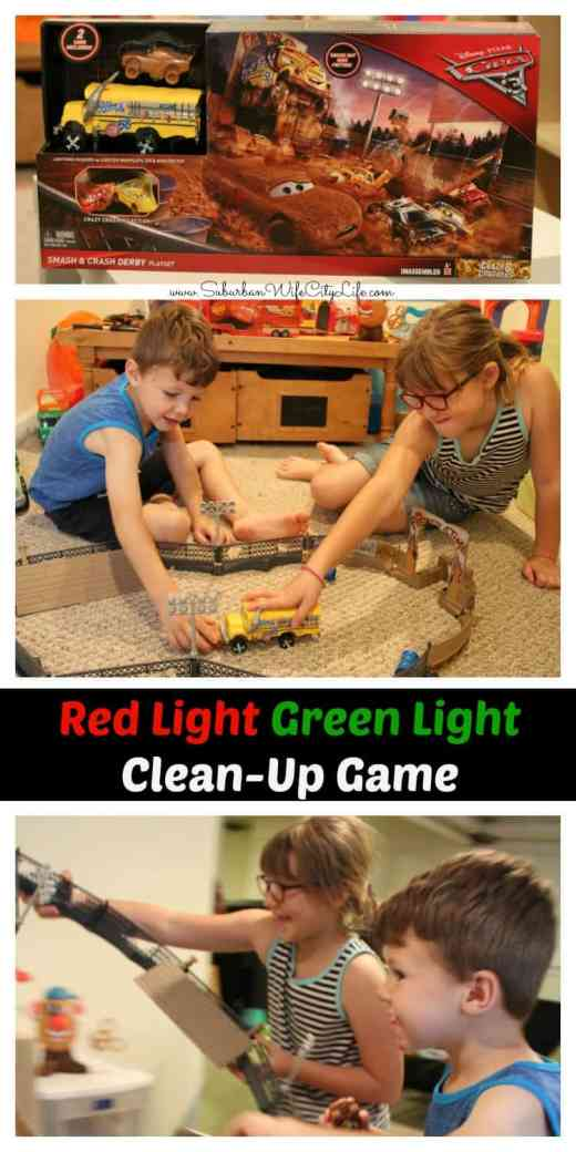 Red Light, Green Light, Clean Up Game #UltimatePitStop