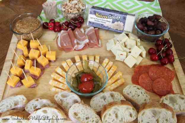 Heluva Good! Block Cheese Plate