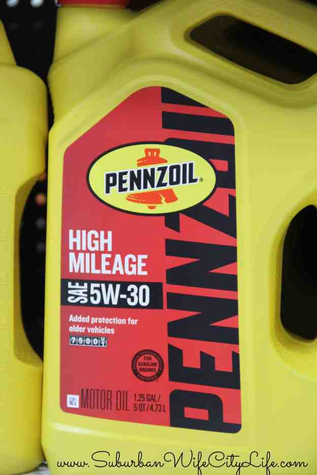 Pennzoil® High Mileage on Rollback at Walmart #RoadTripOil