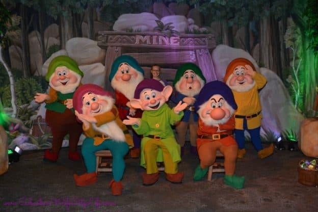 seven dwarfs not so scary halloween party