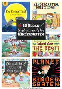 Books to get you ready for Kindergarten