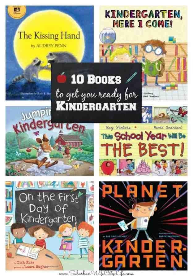 10 Books to get you ready for Kindergarten