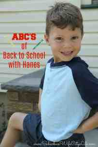 ABCs of Back to School with Hanes