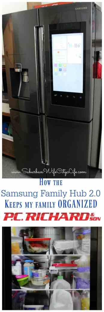Samsung Family Hub 2.0 from P.C. Richard & Son