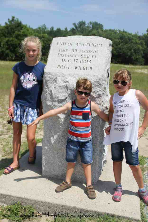Wright Brother's 4th flight - Wright Brothers National Monument