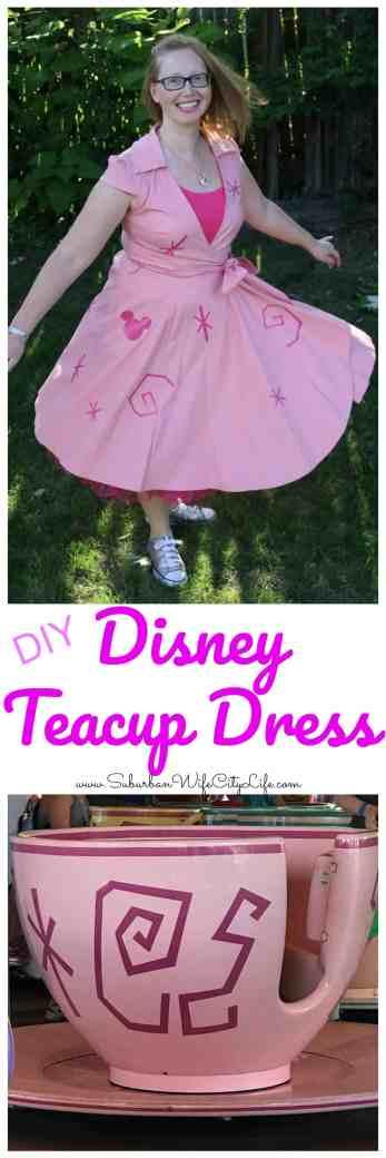 Disney Teacup Dress Disneybound