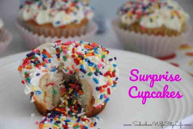Surprise Cupcakes Pillsbury