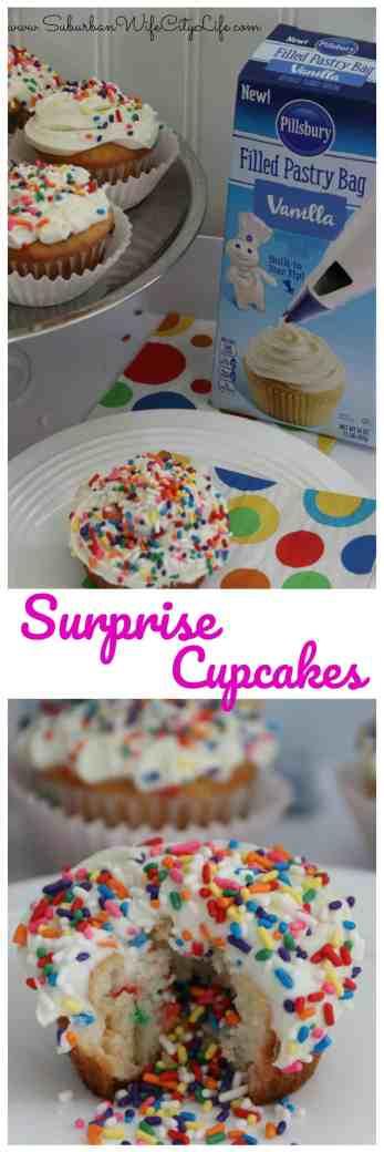 Surprise Cupcakes
