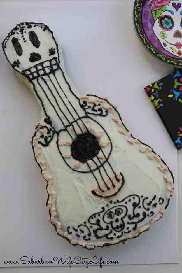 Coco Guitar Cake