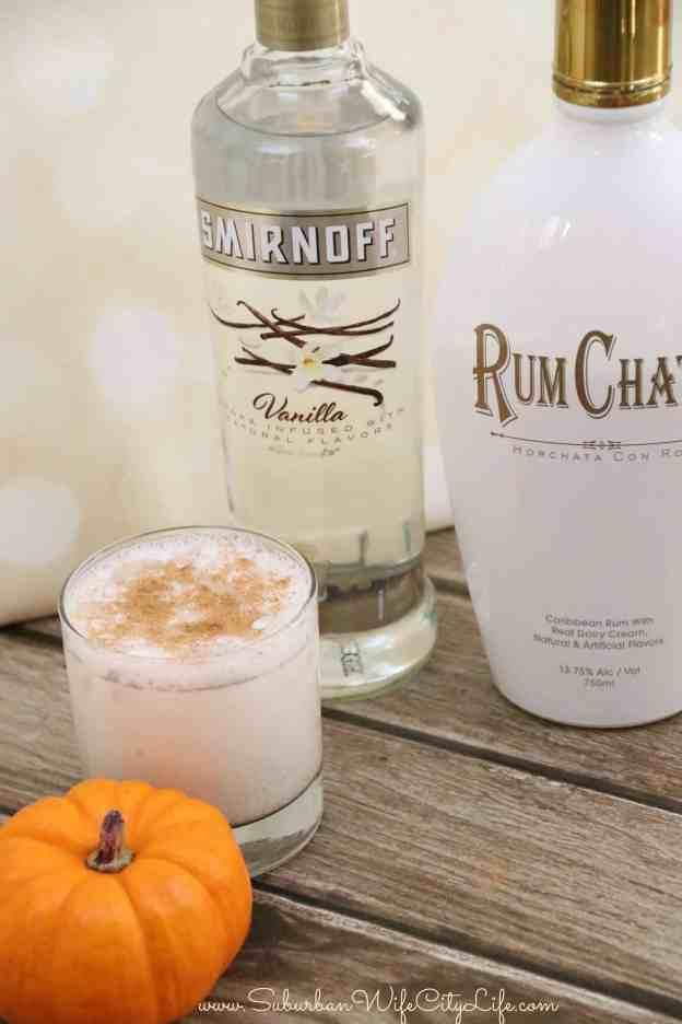 Rum Chata Pumpkin Pie Cocktail