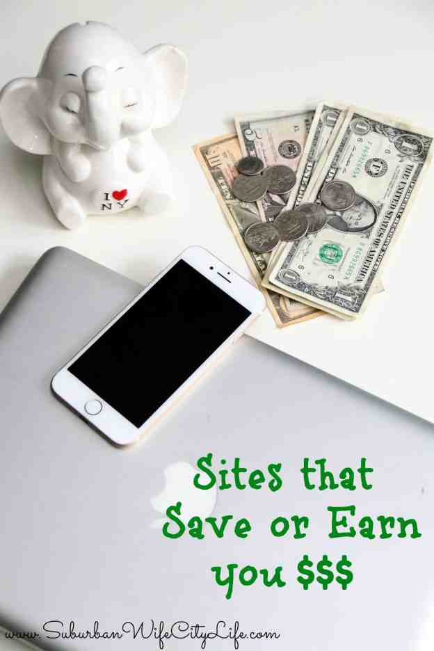 Sites that Save or Earn you money