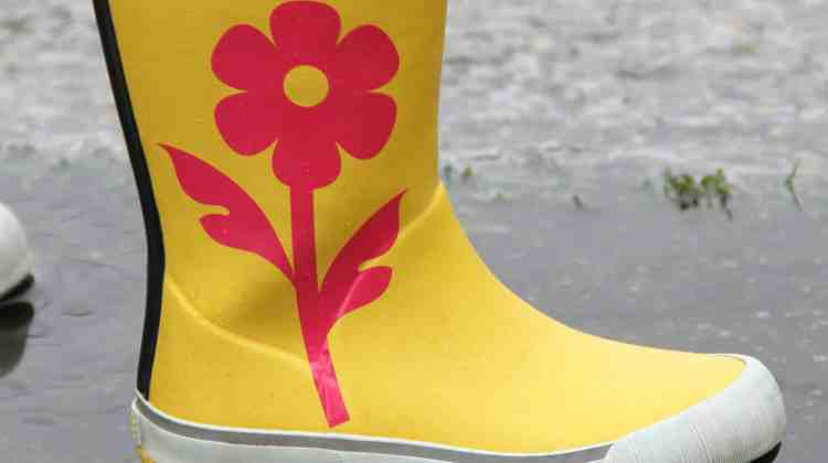 DIY Rain Boots
