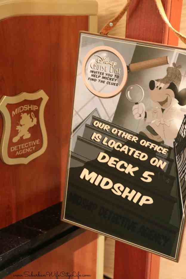 Disney Cruise Mid-Ship Detective Agency