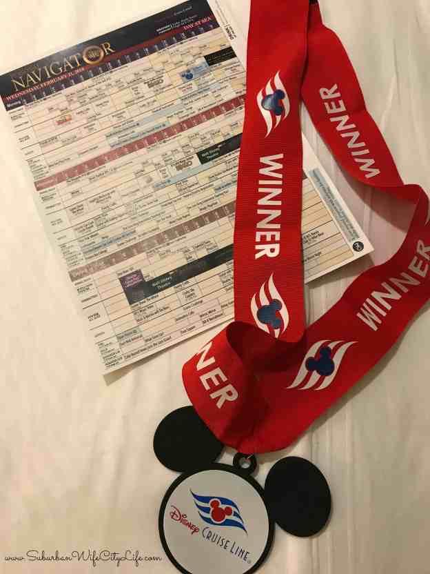 Disney Trivia Winner Medal