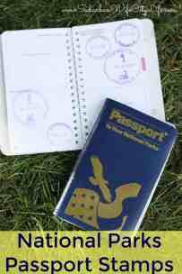 National Parks Passport Stamp Book