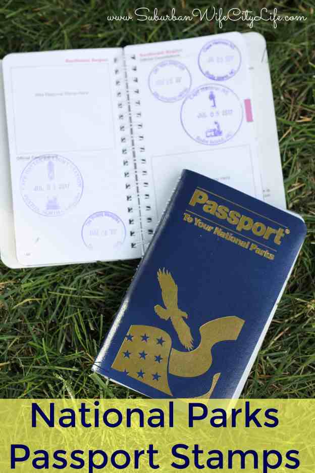 National Parks Passport Stamps