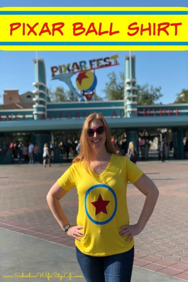 DIY Pixar Ball Shirt #cricutmade