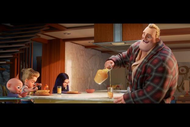 Incredibles2 Bob's Waffles