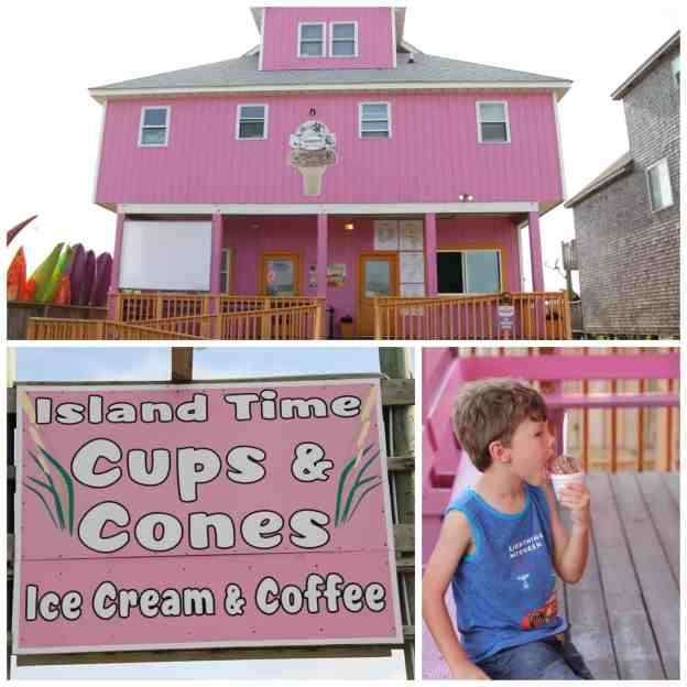 Island Time Cups & Cones Avon, NC #OBX