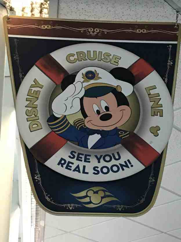 Disembarking a Disney Cruise Ship Tips