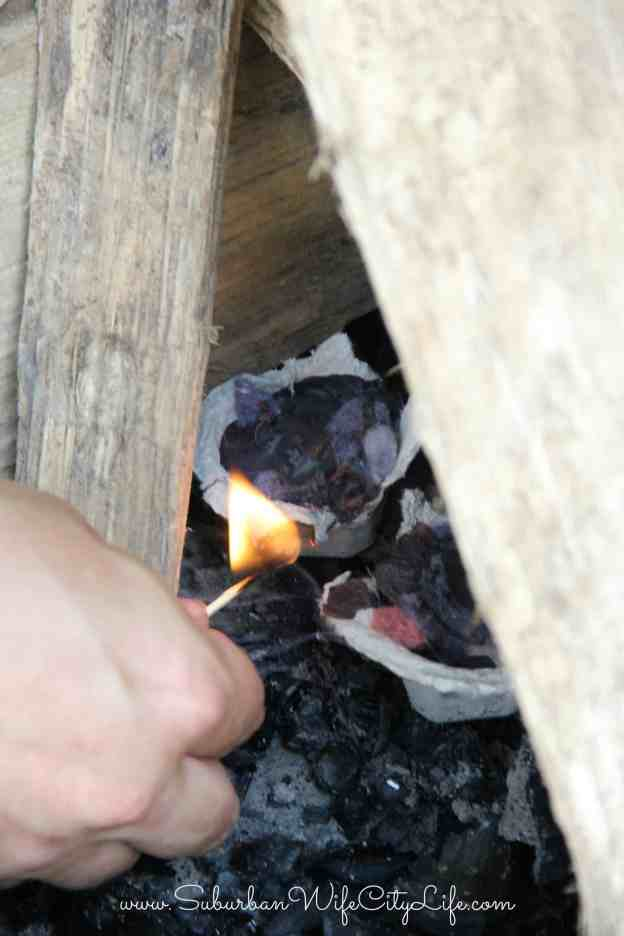 How to use DIY Fire Starters