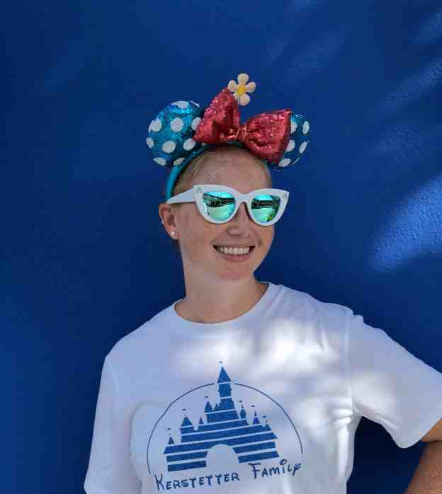 Blue Wall at Magic Kingdom #bluewall