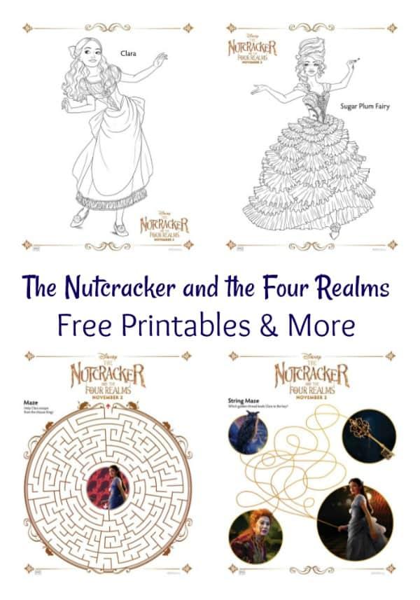 The Nutcracker and the Four Realms Free Printables & More #DisneysNutcracker