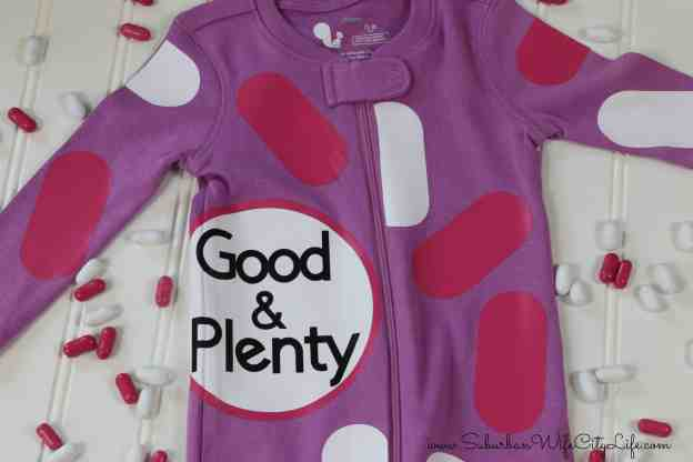 Good & Plenty Costume