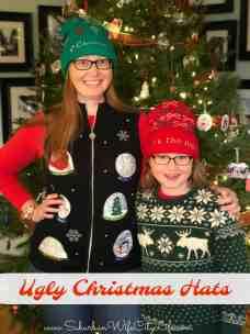 Ugly Christmas Hats #CricutMade