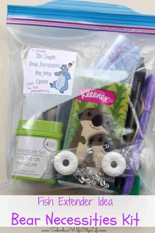 Fish Extender Bear necessities Kit