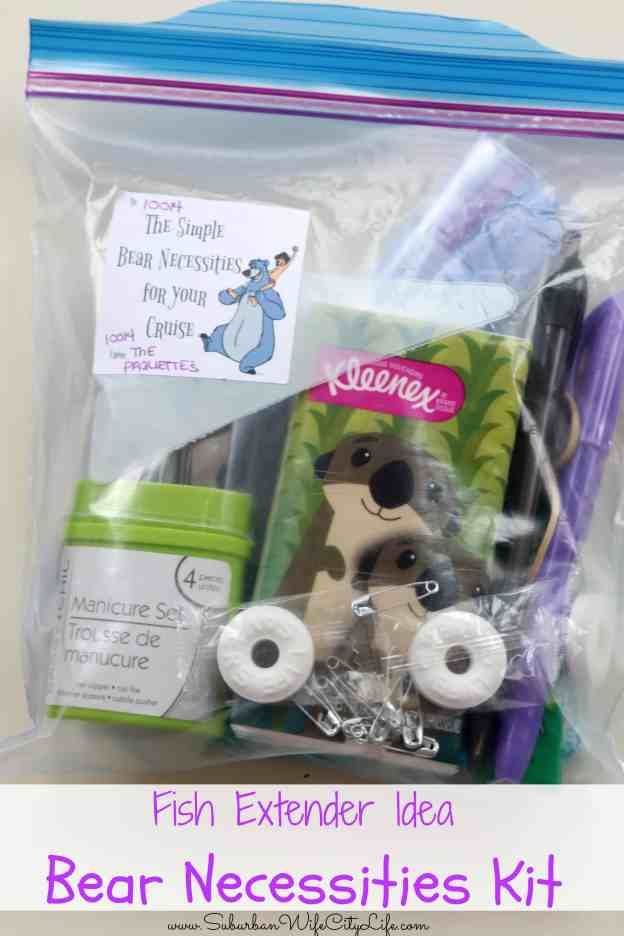 Fish Extender Bear necessities Kit