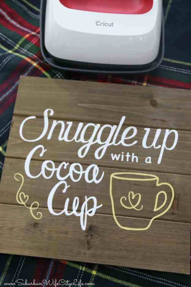 Snuggle up with a Cocoa Cup
